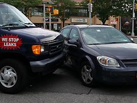 Verhaltenstipps: Autounfall im Ausland