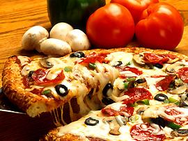 Pizza - Spezialität Italiens
