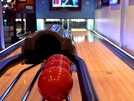Bowlingbahn - Kreuzfahrtschiff