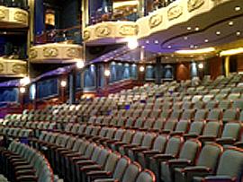 Kinosaal im Kreuzfahrtschiff