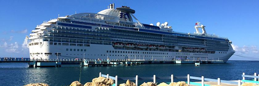 Kreutzfahrtschiff Coral Princess - Jeder Gast erhält seine persönliche Bordkarte