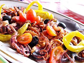 Abendessen (Cena) - Meeresfrüchte