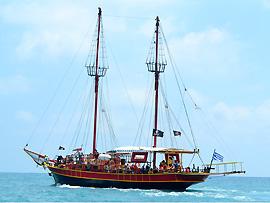 Bootsfahrt in Griechenland
