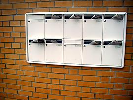 Überquellenden Briefkasten vermeiden