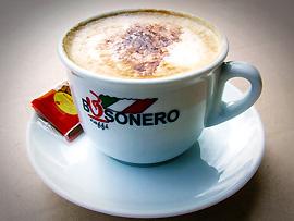 Cappuccino zum Frühstück (Colazione)