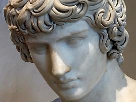 Statue griechischer Mann