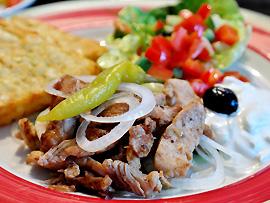 Gyros – weltweit bekanntes und beliebtes griechisches Fleischgericht