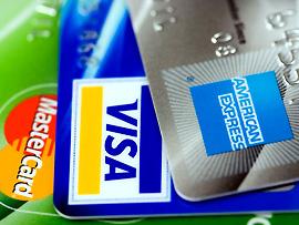 Kreditkarten: VISA – Mastercard – American Express