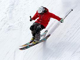 Lawinen beim Skifahren