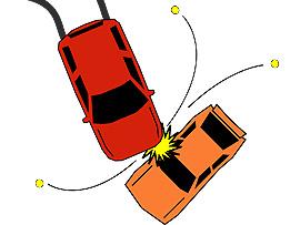 Unfallbericht mit dem Unfallgegner ausfüllen