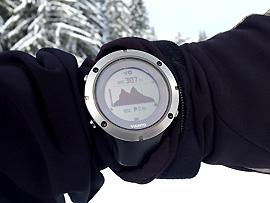 GPS-Gerät (z. B. GPS-Uhr)