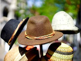 Hut oder Mütze nicht vergessen