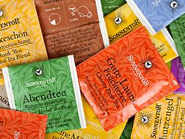 verschiedene Sorten Tee