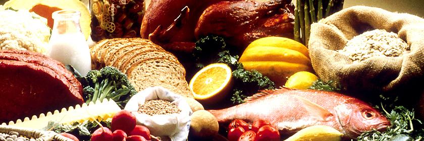 Fisch- und Fleischgerichte Italiens