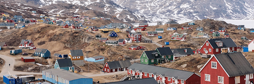 Regelungen für das Reisen mit Haustieren nach Grönland (autonomer Teil des Königreichs Dänemark)