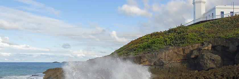 Reisen mit dem Auto in den Freistaat Puerto Rico (Außengebiet der USA in der Karibik)