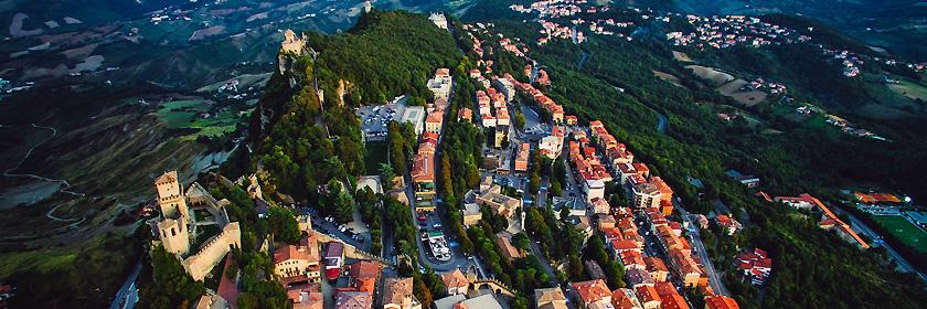 Reiseinformationen für die Republik San Marino