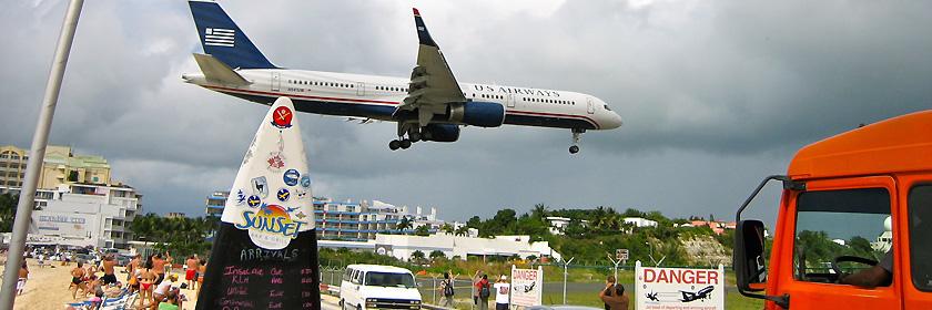 Reiseinformationen für Sint Maarten (überseeischer autonomer Teil des Königreichs der Niederlande)