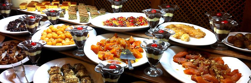 Süße Spezialitäten Griechenlands